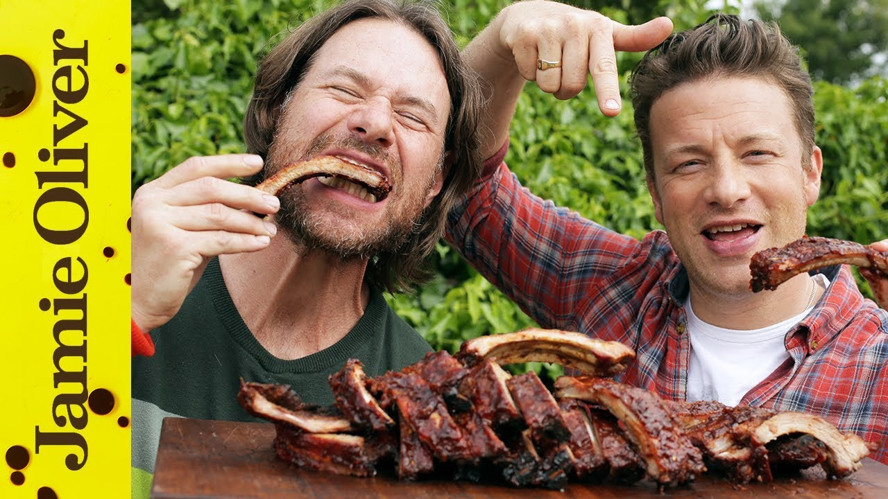 barbecue ribs pork recipes jamie oliver. Black Bedroom Furniture Sets. Home Design Ideas