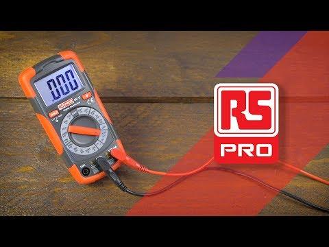 RS Pro RS12 & RS14 Handheld Digital Multimeters