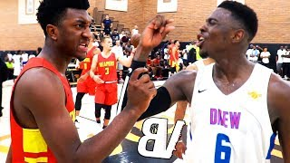 Kyree Walker & McDonalds All-American VS Drew League MVP! Kyree EXPOSES The Game in the Game!