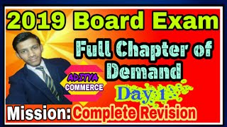 Demand|Full chapter of Demand|Scope of business economics|Cross elasticity of demand|ADITYA COMMERCE