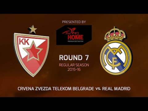 Highlights: RS Round 7, Crvena Zvezda 94-88 Real Madrid