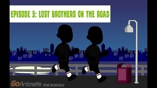 Non-Trouble Life For Caillou- Episode 3: The Lost Brothers on the Road