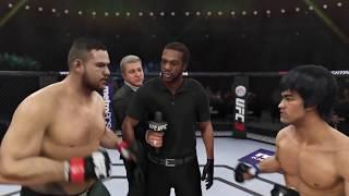 Tai Tuivasa vs. Bruce Lee (EA Sports UFC 3) -  Rematch (CPU vs. CPU)