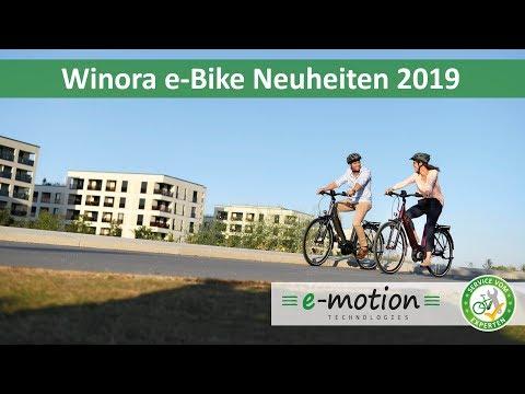 Winora e-Bike Neuheiten 2019 |Überblick