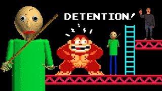 BALDI vs Donkey Kong