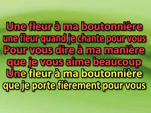 Georges Hamel   Une fleur a la boutonniere