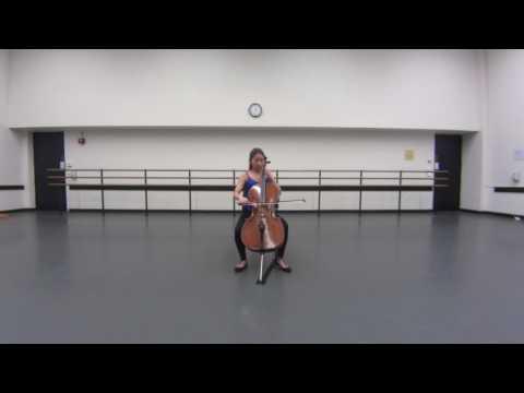 Bach  6 Courante