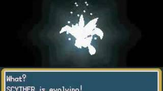 Pokemon Fire Red Omega Evolucion de Scyther