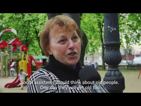 Moldovans speak out about ageing