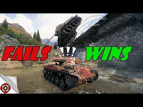World of Tanks - Funny Moments | WINS vs FAILS! (WoT fails, Septembe
