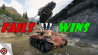 World of Tanks - Funny Moments | WINS vs FAILS! (WoT fails, September 2018)