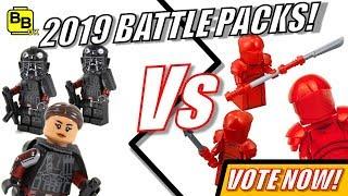 VOTE NOW!! LEGO 2019 BATTLE PACKS INFERNO SQUAD Vs ELITE PRAETORIANS!