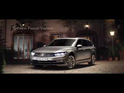 Volkswagen Passat Variant Универсал класса D - рекламное видео 3