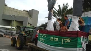 """עדלידע תשע""""ג בעמק הירדן - ילדי גשר מציגים את העגלה בסימן סכין ומזלג"""