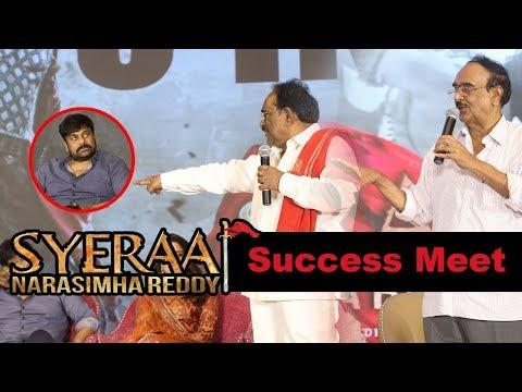 Paruchuri Brothers at Syeraa Narasimhareddy Movie Success Meet Event