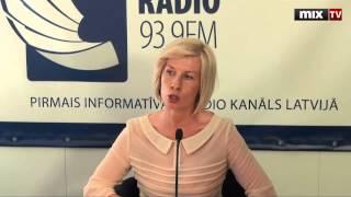 """MIX TV: Екатерина Зорина в программе """"Разворот"""""""