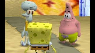 The Simpsons Hit & Run - Annoy Squidward's Mission