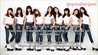 Girls' Generation - Lazy Girl [Eng Sub+Romanization+Hangul] HD