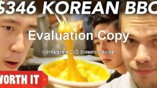 "$24 Korean BBQ VS. $346 Korean BBQ ""$24 Korean BBQ VS. $346 Korean BBQ"""