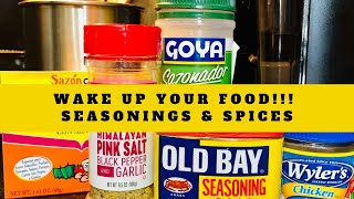 Favorite Seasonings And Spices