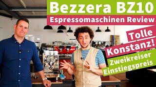 Bezzera BZ10 - Espressomaschinen Review   Viel Leistung, Top-Einstiegspreis