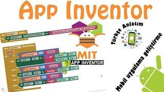 App Inventor-Kod blokları