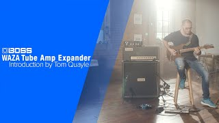 BOSS WAZA Tube Amp Expander - Introduction by Tom Quayle