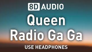Queen - Radio Ga Ga | 8D AUDIO 🎧