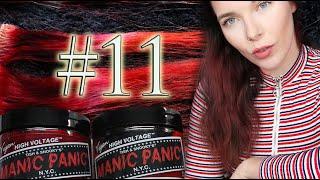 MANIC PANIC: Vampire Red, Electric Lava & Red Passion - Haltbarkeit, Auswaschen, Infos