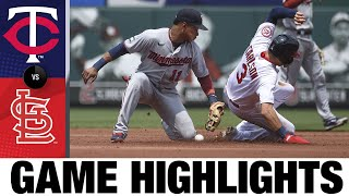 Twins vs. Cardinals Game Highlights (8/1/21) | MLB Cov ntsiab lus tseem ceeb