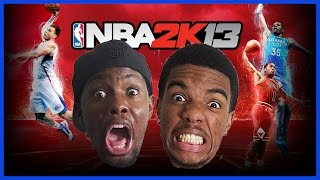 HAHA! SOMEONE ISN'T HAVING FUN!! -  #ThrowbackThursday   NBA 2K13 Gameplay