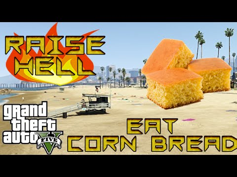 GTA V Funny Moments - Raise Hell Eat Cornbread