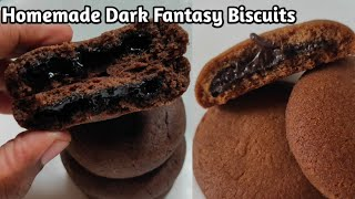 டார்க் பேன்டஸி|Dark Fantasy Biscuits Recipe In Tamil|Choco Fills Cookies Recipe|Choco Cookies| 90sKK