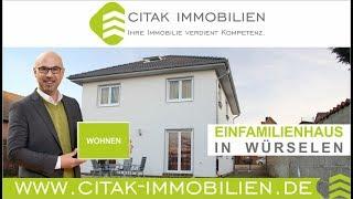 preview picture of video 'Immobilien Würselen - Freistehendes Haus mit 5 Zimmern, 2 Bädern und 2 Wohnküchen in Würselen.'