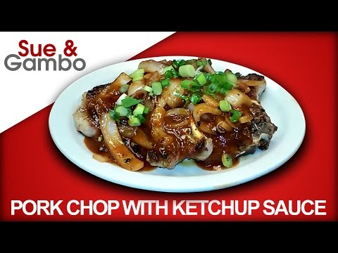 Video How to Make Pork Chop with Ketchup Sauce