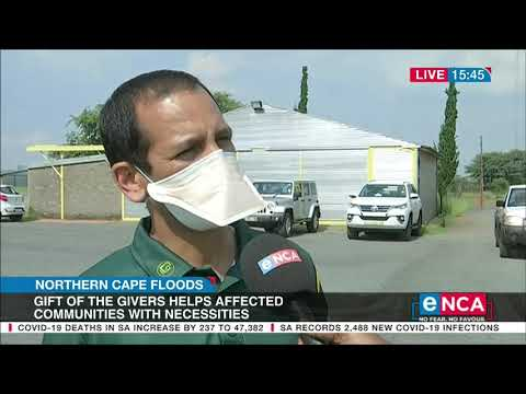 Gift of the Givers helps Northern Cape flood victims