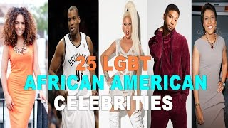 25 LGBT African American Celebrities in Hollywood
