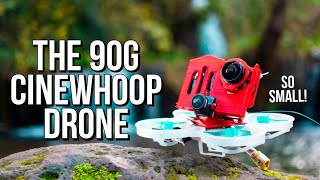 This Cinematic fpv drone is ONLY 90g! Tutorial of the Dison Nano 75 with naked Gopro