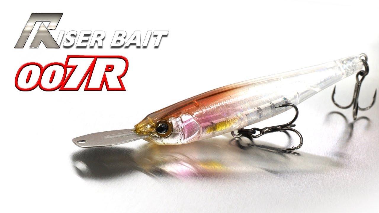 Jackall Riser Bait 007R Promo Video