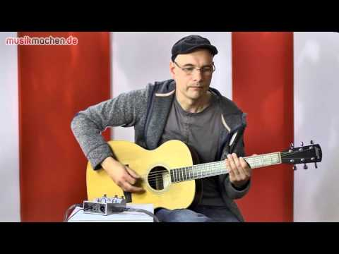 Zoom A3 Akustikgitarren-FX im Test