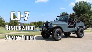 Complete Jeep Restoration in 10 Minutes
