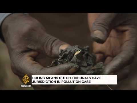 Video Dutch court: Shell can be liable for Nigeria spills