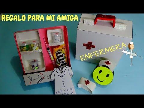 REGALO PARA MI AMIGA - ENFERMERA - creaciones betina