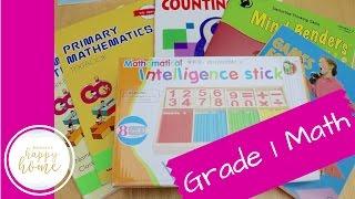 First Grade Homeschool Math Curriculum || Singapore Math, Kumon, & More!