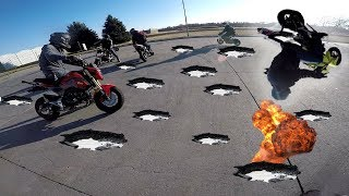 RIDING THROUGH A MINEFIELD! (With Keef Cheef)