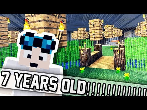 PLAYING THE OLDEST MINECRAFT MAP?! Mp3