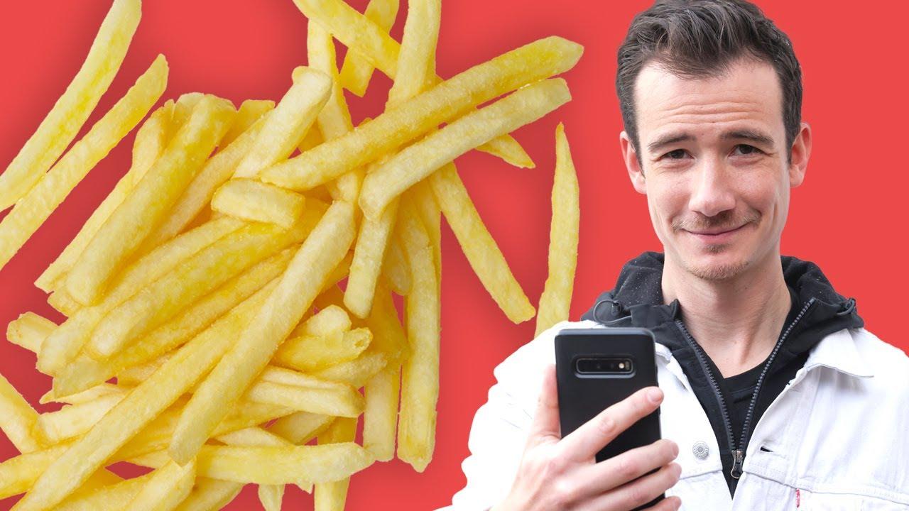 Comment savoir si on vous sert des frites surgelées au restaurant ?