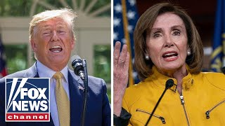 Trump blasts Pelosi, clarifies foreign intel remark amid backlash