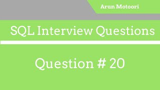 SQL Interview Question # 20  - SQL Query - Salary greater than or equal to and less than or equal to