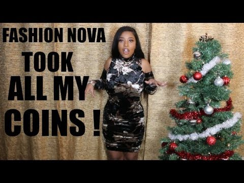 FASHION NOVA ROBBED ME FOR THE HOLIDAY!! | HEYPARIS | TRY - ON - HAUL